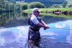 Grayling fishing on the Welsh Dee