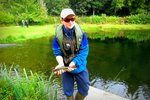 One of several fish caught by CADAC Juniors at Chirk Fishery